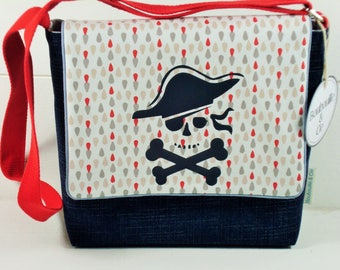 -PIRATE KIDS MESSENGER BAG
