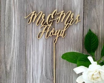 Custom cake topper - wedding and party decor