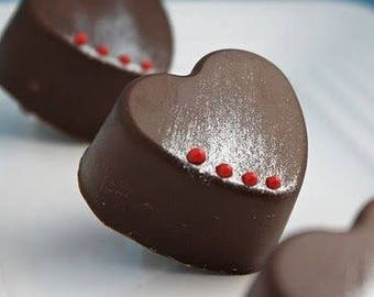 Valentines truffe boxes set of 12