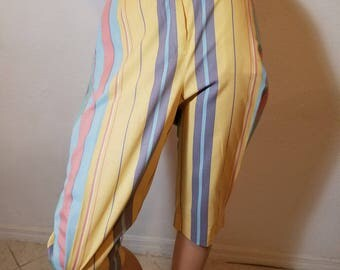 FREE  SHIPPING   1950  Capri  Pants