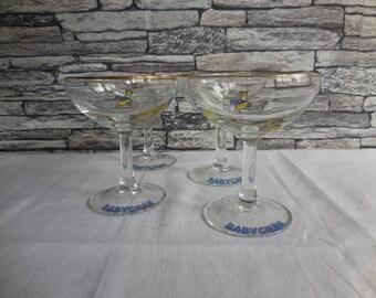 I'd love a Babycham set of 4 Babycham glasses #1