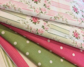 Barefoot Roses by Tanya Whelan  Fabric Bundle
