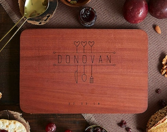 Personalized Cutting Board Christmas Gift Wedding Personalized Cutting Board Personalized Wedding Cutting Board Engraved Cutting Board 09