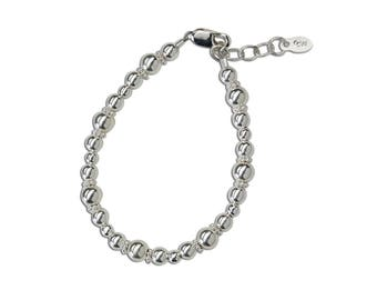 Girls Sterling Silver Bracelet  Comes in Gift Box for Girls (Lexi)