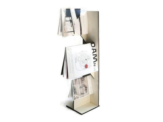 Zeitschriften Ständer laser schneiden holz zeitschriftenständer minimalistisch