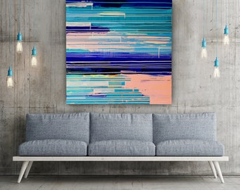 Original Abstract Painting - 'Tightrope'