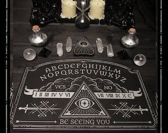 Illuminate Spirit Board - Ouija Board - Full Size