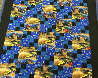 Ford new holland toddler quilt