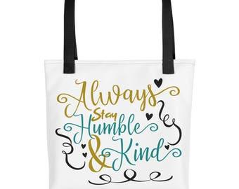 Humble and Kind Tote bag