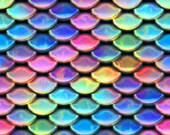 Rainbow Scales  Minky topped pads Menstrual | Incontinence 》Pampered Shop