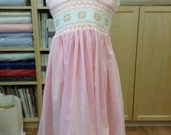 Hand Smocked Summer dress