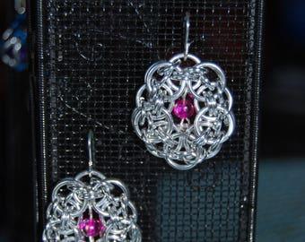 Helm Flower Earrings