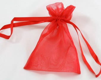 4x5.5in Organza Sheer Pouch. Great for gift giving!  Other sizes and colors available!  (Pack of 48) (SP14-xx)