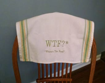 WTF? kitchen towel