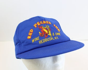 Red Pecker Inn hat cap snapback