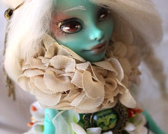 Monster High OOAK Beauty Nacre full custom 1/6 doll vinyl