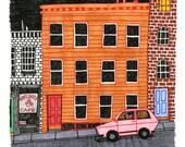 Street -- ORIGINAL DRAWING