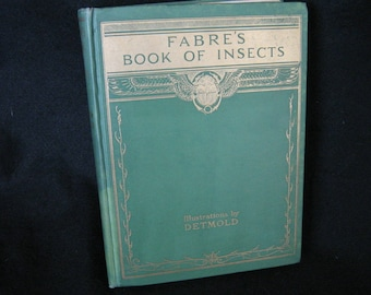 Fabres Book Of Insects 12 Tipped Plates