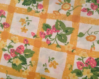 Vintage Waverly Fabric 3 yards/Material