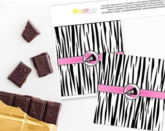 Printable CHEER Hershey Bar Wrappers, Printable CHEER Birthday Candy Bar Wrappers, Cheer Birthday by SUNSHINETULIPDESIGN