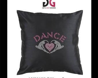 Rhinestone Dace Pillow