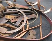 Copper Scrap Rustic Mixed Lot Assemblage Supplies The Crow Keeper Destash