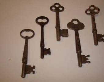 5  Old Old Keys