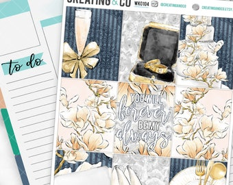 Forever My Always Weekly Planner Kit for No-White Space and White Space Planners  - WK01