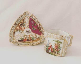 Hal-Sey Fifth Mini Tea Cup & Saucer