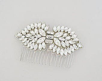 CORNELIA Crystal Vintage Inspired Bridal Hair Comb