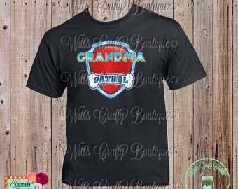 Grandma Patrol Paw Patrol T-shirt
