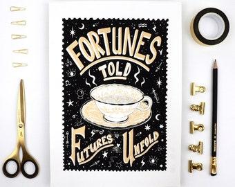 Fortune Teller's Mystic Screen Print