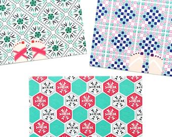 I Love Pretty Floor Tiles Postcards - Pack of 3