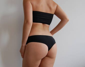 Regular-Rise Cheeky Bikini Bottoms