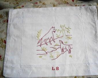 Vintage nightie or lingerie envelope from 50s France