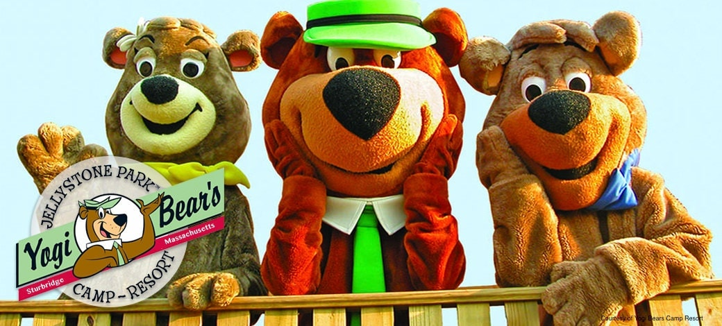 Camping, resort, yogi bear