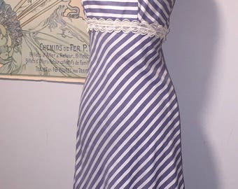Saba California Vinatge 70's striped dress