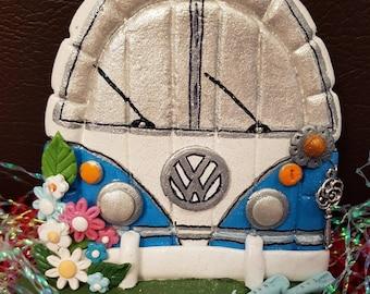 VW Campervan Fairy Door