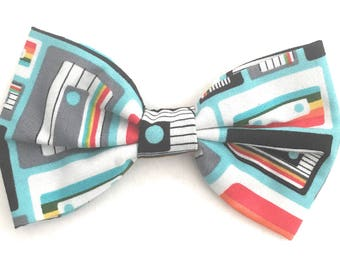 Men's Novelty Bow -Tie- Retro 80's