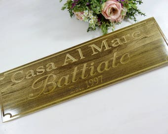 Saying Signs - Wood Sign Decor - Custom Wood Signs - Kitchen Signs - Family Quote Sign - Signs With Quotes - Quote Sign - Rustic Signs