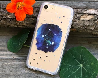 Zodiac Constellations Phone Case for iPhone 5, SE, 6, 6 Plus, 7, 7Plus, 8, 8 Plus and X. TPU or Wood Options