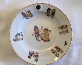 French porcelain nursery bowl