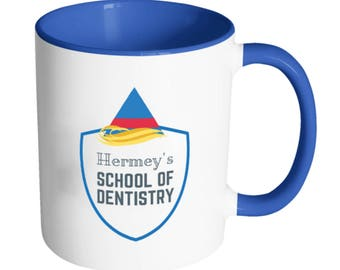 Hermey's School of Dentistry Coffee Mug - Rudolph the Red Nosed Reindeer Misfit Toys - Dentist Gift - Christmas Movie