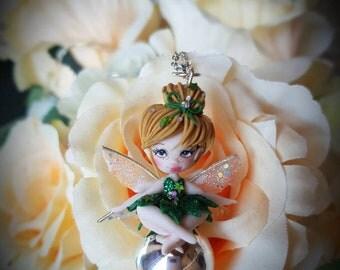 doll fimo/collana chiama angeli fimo handmade di trilly