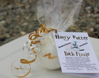 Harry Potter Bath Bomb Butterbeer Scented/Harry Potter Sorting Hat Bath Bomb/Harry Potter Bath Fizzie/Sorting Hat Bath Fizzie
