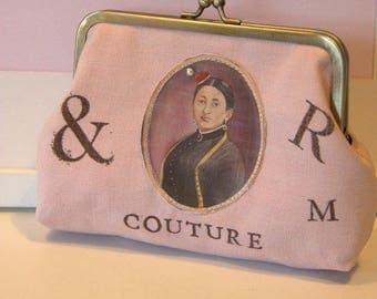"""Wallet """"Eugenia first workshop"""" rose"""