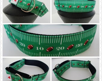 Martingale Football Dog Collar, Martingale Sports Dog Collar, Martingale Dog Collar, Dog Supplies, Dog Collar