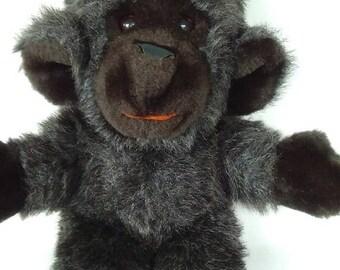 "ON SALE Vintage 1979 Gund Chimpanzee/Chimp Collector's Classics Monkey Vintage Plush Stuffed Animal 13"" Gund Monkey Stuffed Animal Collectib"