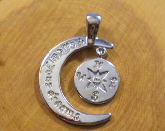Original silver pendant charm