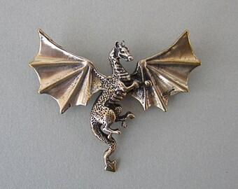 Bronze Dragon Pendant